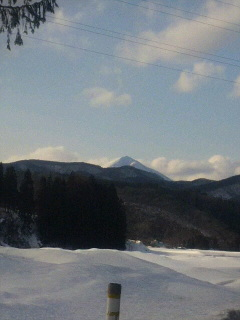 冬の十和田へ