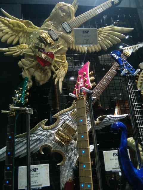 楽器フェア2011…ギター