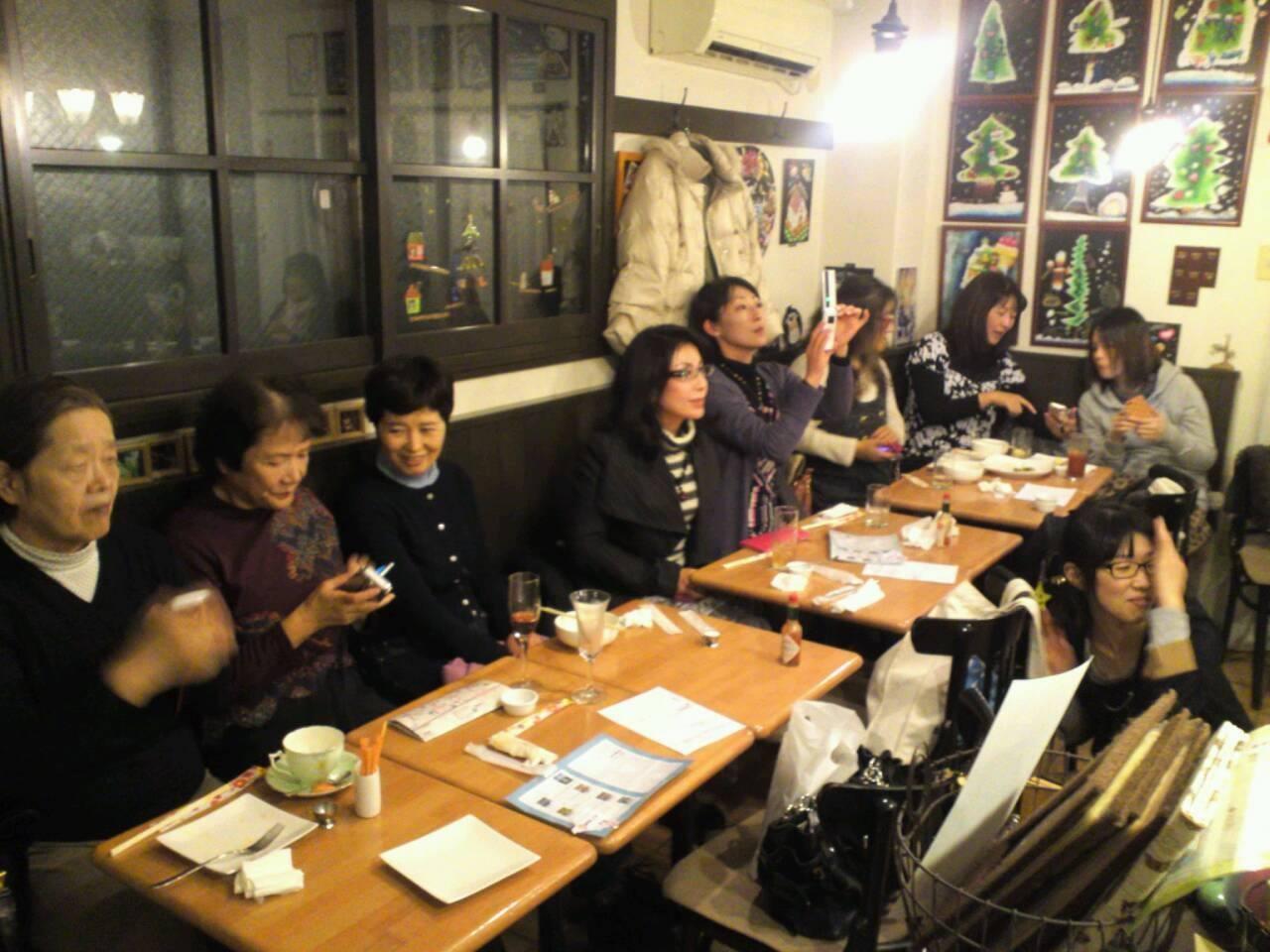 kotori cafe にて