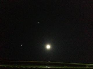 今年、最初の満月